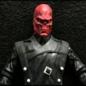 Red Skull Rare Figure Collectible  Brand New